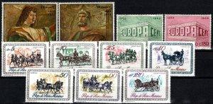San Marino #699-709 MNH CV $3.15 (X2648)