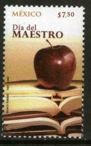 MEXICO 2539, TEACHERS DAY. MINT NH. VF.