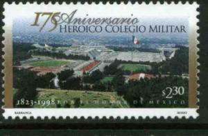 MEXICO 2098, Military College, 175th Anniversary. MINT, NH. VF. (69)