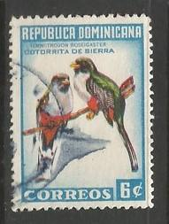 Dominican Republic 604 VFU BIRDS Z943-5