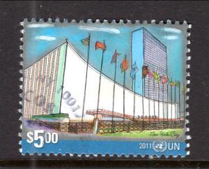 UN New York 1021 Used VF