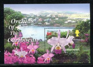 Montserrat 1123, MNH,  Flowers Orchids 2005 x27162
