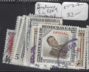 HONDURAS  (PP0401B)  SC CO69, 71-3, 78, 80-3  VFU