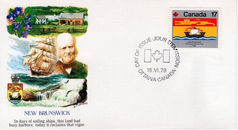 CANADA - 1979 Canada Day - Flags  FDC5309