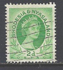 Rhodesia & Nyasaland Sc # 143 used (RS)