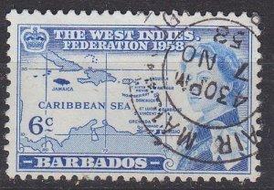 BARBADOS [1958] MiNr 0217 ( O/used )
