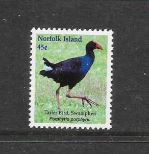 BIRDS - NORFOLK ISLAND #720  MNH