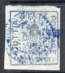INDIA-  DUTTIA STATE  STAMPS -  MH MINT FINE  SG NO ? RARE HIGH CV