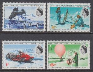 British Antarctic Territory 20-23 MNH VF