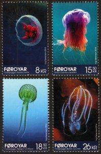 Faroe Islands 2014 Scott #613-616 Mint Never Hinged
