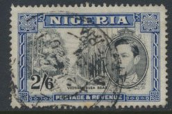 Nigeria  SG 58b spacefiller  Perf 14  1942 Definitive please see scan