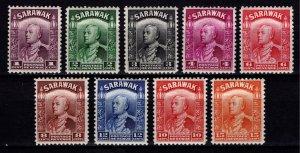 Sarawak 1934-41 Sir Charles Vyner Brooke Definitives, Part Set [Unused]