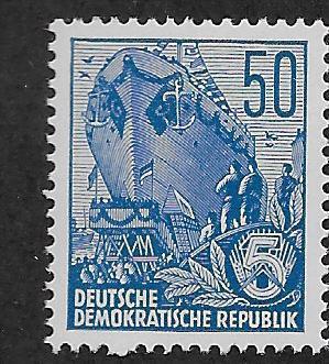 GERMANY - DDR SC# 230  VF/MNH 1955