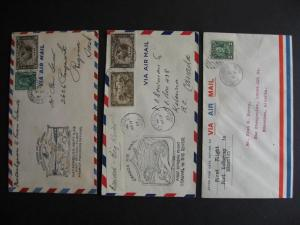 CANADA 3 better1930s FFC (First Flight Covers)collection part 27 check the pics!