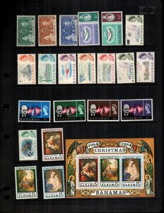 Bahamas  MNH lot of 21