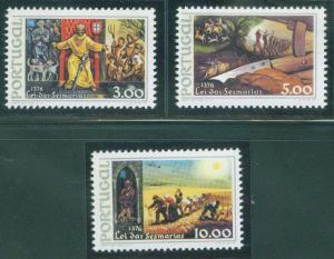 PORTUGAL Scott 1288-90 MNH** King Ferdinand I set CV $3.70
