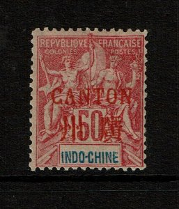 France Offices in Canton SC# 11, Mint Hinged, Hinge Remnants, see notes - S9641
