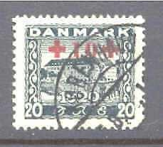 Denmark B2 used Red Cross SCV40