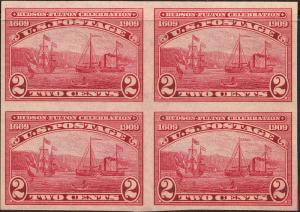 U.S. 373 VF NH Blk/4 (21919)