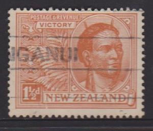 New Zealand Sc#167 Used