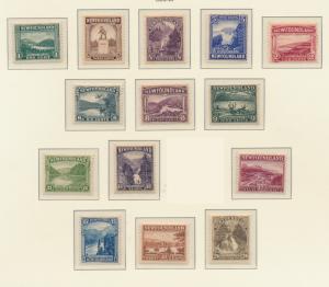 Newfoundland (Canada) Stamps Scott #131 To 144, Mint Hinged - Free U.S. Shipp...