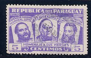 Paraguay Scott # 481, used