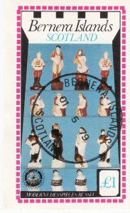 Cinderellas; Bernera, CTO, Modern Chess Pieces, Russia, £1 Rate, 1979