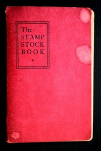 G US Old Cut Square Stamp Collection 100 Used in Stamp Stock Book Album