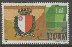 MALTA SG848 1989 NEW STATE OF ARMS MNH