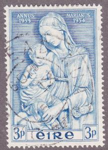 Ireland 151 USED 1953 Madonna by della Robbia