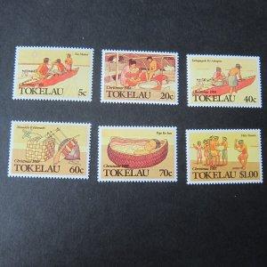Tokelau 1988 Sc 157-162 set MNH