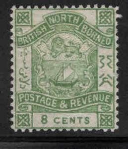 North Borneo Scott 42 MH* perf 14 stamp CV$32.50
