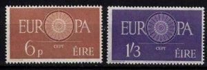 Ireland - Sc175-176 Europa Cept 1960 mint - CV $75