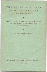Doyle's_Stamps: 1951 Royal Philatelic Society One/Two Pence Imperforates