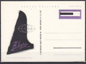 Poland, Ruch cat. CP263. Composer F. Chopin Postal Card. ^