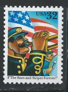 US #3153 32c The Stars & Stripes Forever