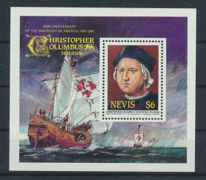 [I1697] Nevis 1992 C. Colomb good sheet very fine MNH