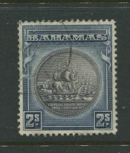 Bahamas - Scott 90 - Seal of Bahamas Issue-1931- VFU -Single 2/- Stamp