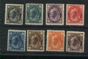Canada 66-73   Mint  1897-98   PD