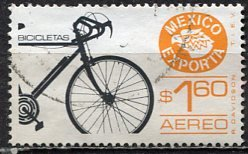 Mexico; 1979: Sc. # C596; O/Used Single Stamp