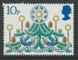 Great Britain  SG 1138 SC# 928 Used / FU with First Day Cancel - Christmas 1980