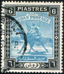 British Sudan SC# 90 Camel Post Used
