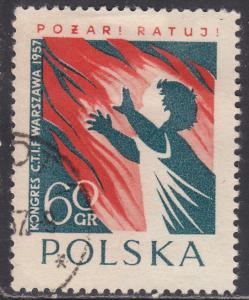 Poland 787 International Fire Fighters 1957