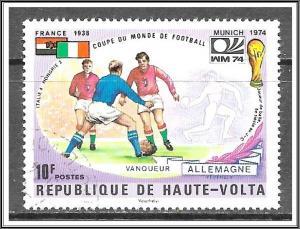 Upper Volta #335 World Cup Soccer CTO