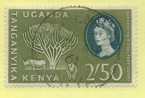 Kenya,Uganda,Tanganyika #90-91 Peace Issue ( MLH)  CV $0.65