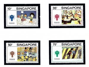 Singapore 329-32 MNH 1979 Intl Year of the Child