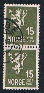 Norway Lion 15 pair - pickastamp (AP100709)