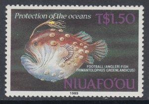 Tonga Niuafo'ou 107 Fish MNH VF