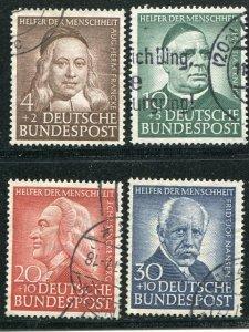 Germany #B334-37  Used VF-     Lakeshore Philatelics