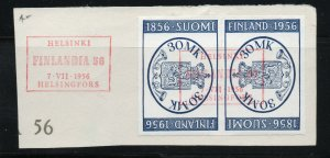 Finland - Sc# 4341 Used/ event cancel/ Tete-Beche Pair    -    Lot 0520186